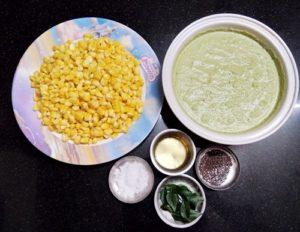 Corn Coconut Bhaji