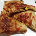 Paneer Tikka Toast Sandwich